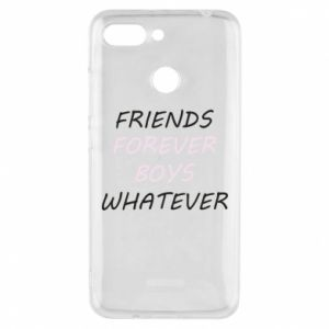 Phone case for Xiaomi Redmi 6 Friends forever boys whatever