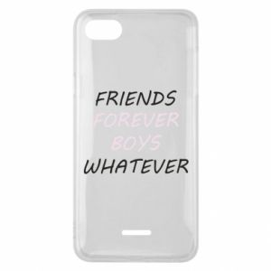 Phone case for Xiaomi Redmi 6A Friends forever boys whatever