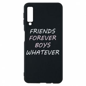 Phone case for Samsung A7 2018 Friends forever boys whatever