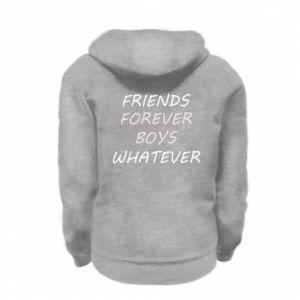 Bluza na zamek dziecięca Friends forever boys whatever