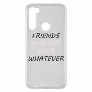 Etui na Xiaomi Redmi Note 8 Friends forever boys whatever