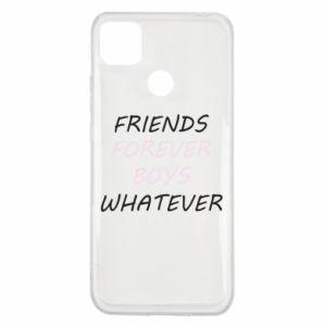 Etui na Xiaomi Redmi 9c Friends forever boys whatever