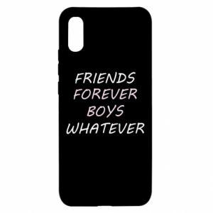 Etui na Xiaomi Redmi 9a Friends forever boys whatever