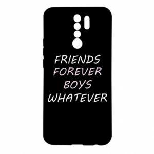 Etui na Xiaomi Redmi 9 Friends forever boys whatever