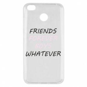 Etui na Xiaomi Redmi 4X Friends forever boys whatever