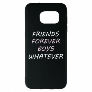 Etui na Samsung S7 EDGE Friends forever boys whatever
