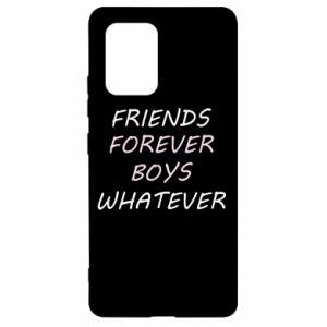 Etui na Samsung S10 Lite Friends forever boys whatever