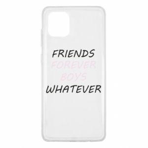 Etui na Samsung Note 10 Lite Friends forever boys whatever