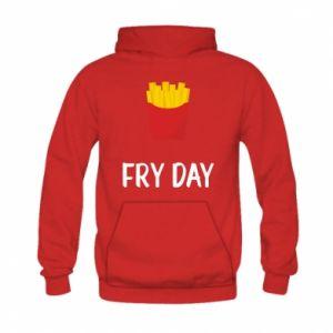 Kid's hoodie Fry day