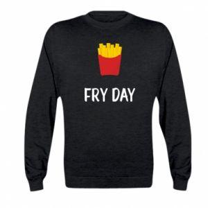 Kid's sweatshirt Fry day