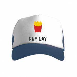 Kid's Trucker Hat Fry day