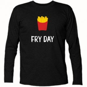 Long Sleeve T-shirt Fry day