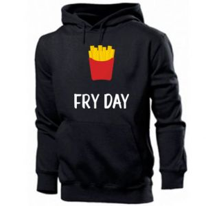 Męska bluza z kapturem Fry day