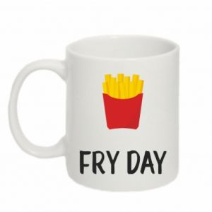 Kubek 330ml Fry day