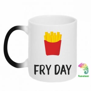 Chameleon mugs Fry day