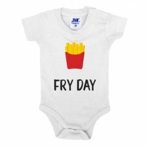 Baby bodysuit Fry day