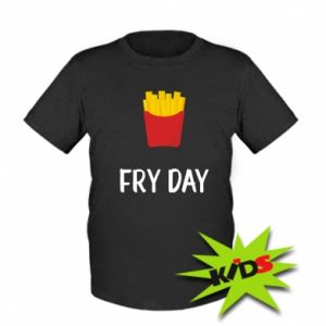 Kids T-shirt Fry day