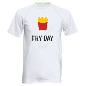 Men's sports t-shirt Fry day
