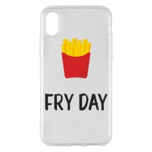Phone case for iPhone X/Xs Fry day