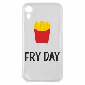 Etui na iPhone XR Fry day
