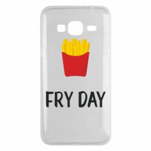 Phone case for Samsung J3 2016 Fry day