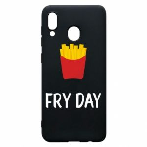 Phone case for Samsung A20 Fry day