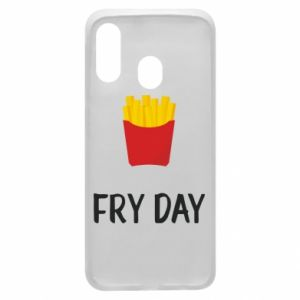 Phone case for Samsung A40 Fry day
