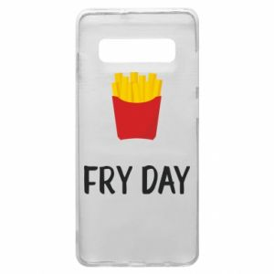 Phone case for Samsung S10+ Fry day