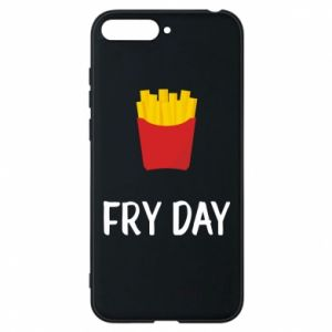 Phone case for Huawei Y6 2018 Fry day
