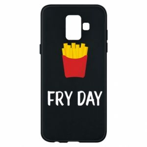 Phone case for Samsung A6 2018 Fry day