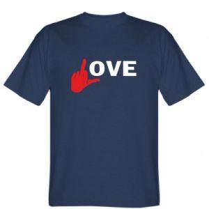 T-shirt Fuck love