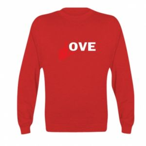 Bluza dziecięca Fuck love