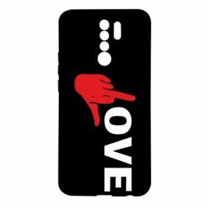 Etui na Xiaomi Redmi 9 Fuck love