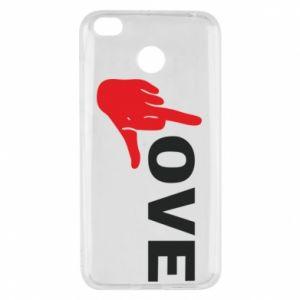 Etui na Xiaomi Redmi 4X Fuck love