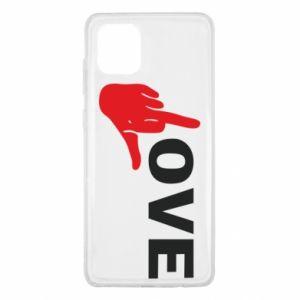 Etui na Samsung Note 10 Lite Fuck love