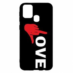 Etui na Samsung M31 Fuck love