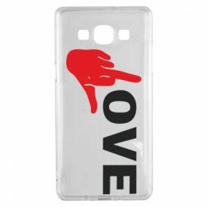 Etui na Samsung A5 2015 Fuck love