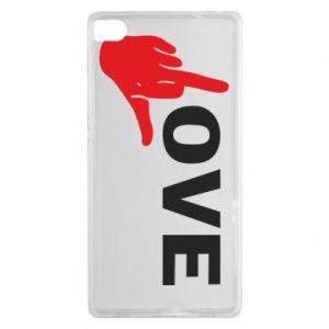 Etui na Huawei P8 Fuck love