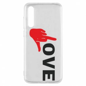 Etui na Huawei P20 Pro Fuck love