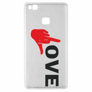 Etui na Huawei P9 Lite Fuck love