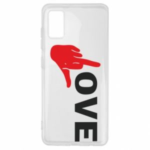 Etui na Samsung A41 Fuck love