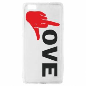 Etui na Huawei P 8 Lite Fuck love