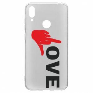 Etui na Huawei Y7 2019 Fuck love