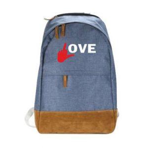 Plecak miejski Fuck love