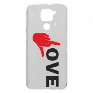 Etui na Xiaomi Redmi Note 9/Redmi 10X Fuck love