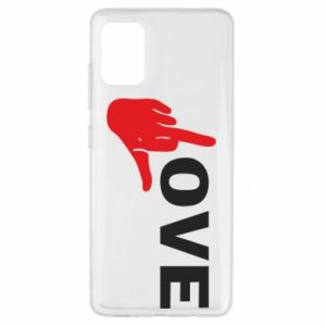 Etui na Samsung A51 Fuck love