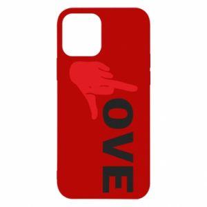 Etui na iPhone 12/12 Pro Fuck love