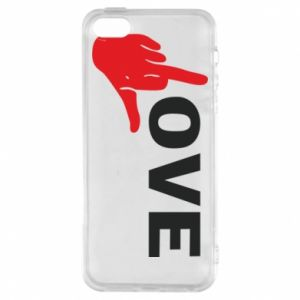 Etui na iPhone 5/5S/SE Fuck love