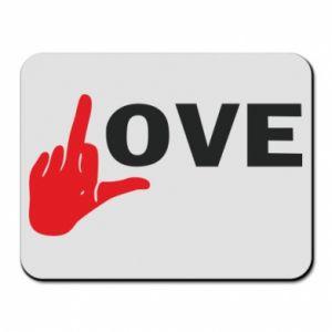 Podkładka pod mysz Fuck love