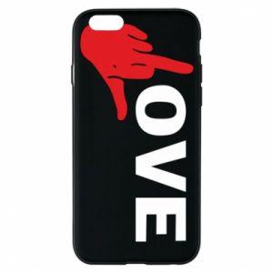 Etui na iPhone 6/6S Fuck love